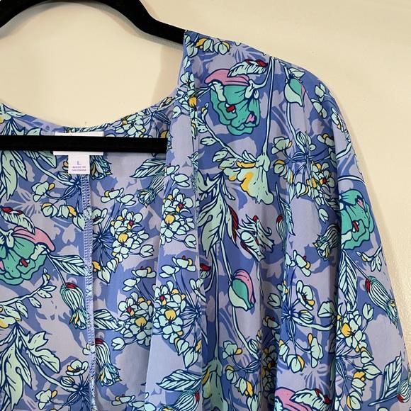 NWT Large LulaRoe Lindsay kimono